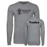 Grey Long Sleeve T Shirt-Trades