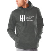 Under Armour Carbon Armour Fleece Hoodie-Huntington Ingalls Industries