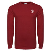 Cardinal Long Sleeve T Shirt-Icon