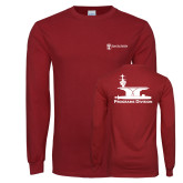 Cardinal Long Sleeve T Shirt-Programs Division