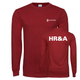 Cardinal Long Sleeve T Shirt-HR and A