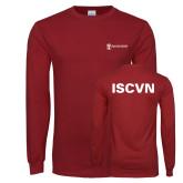 Cardinal Long Sleeve T Shirt-ISCVN