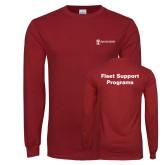 Cardinal Long Sleeve T Shirt-Fleet Support Programs