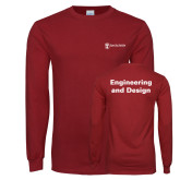 Cardinal Long Sleeve T Shirt-Engineering and Design