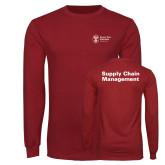Cardinal Long Sleeve T Shirt-Strategic Sourcing