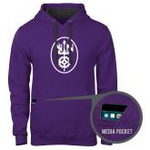 Contemporary Sofspun Purple Hoodie-Icon