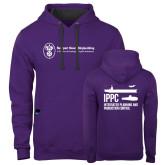 Contemporary Sofspun Purple Hoodie-IPPC