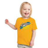 Toddler Gold T Shirt-Future Shipbuilder Carrier Ship