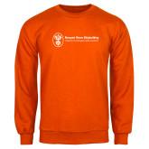 Orange Fleece Crew-Newport News Shipbuilding