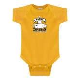Gold Infant Onesie-Future Shipbuilder Submarine