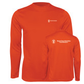 Performance Orange Longsleeve Shirt-Business Management