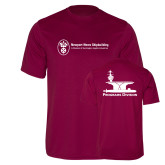 Performance Maroon Tee-Programs Division