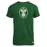 Russell Dark Green Essential T Shirt-Icon