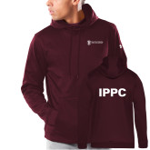 Under Armour Maroon Armour Fleece Hoodie-IPPC