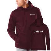 Under Armour Maroon Armour Fleece Hoodie-CVN 79