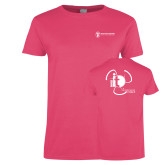 Ladies Fuchsia T Shirt-NNS IT