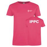 Ladies Fuchsia T Shirt-IPPC