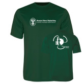 Performance Dark Green Tee-NNS IT