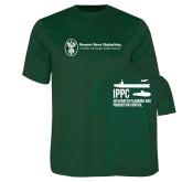 Performance Dark Green Tee-IPPC