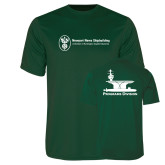 Performance Dark Green Tee-Programs Division