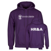 Purple Fleece Hoodie-HR and A