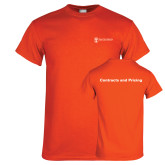 Orange T Shirt-Contracts and Pricing