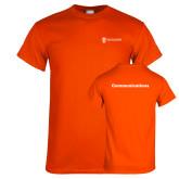 Orange T Shirt-Comms