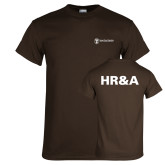 Brown T Shirt-HR and A