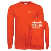Orange Long Sleeve T Shirt-IPPC