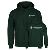 Dark Green Fleece Hood-Business Management