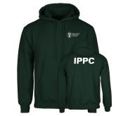 Dark Green Fleece Hood-IPPC