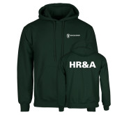 Dark Green Fleece Hood-HR and A