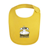 Yellow Baby Bib-Future Shipbuilder Submarine