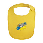 Yellow Baby Bib-Future Shipbuilder Carrier Ship