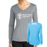 Ladies Syntrel Performance Light Blue Longsleeve Shirt-IPPC