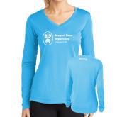 Ladies Syntrel Performance Light Blue Longsleeve Shirt-Strategic Sourcing