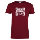 Ladies Cardinal T Shirt-NNS Vintage