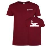 Ladies Cardinal T Shirt-Programs Division