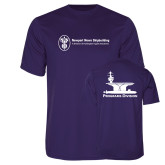 Performance Purple Tee-Programs Division