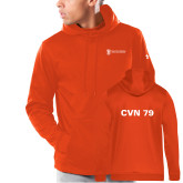 Under Armour Orange Armour Fleece Hoodie-CVN 79