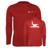 Performance Cardinal Longsleeve Shirt-Programs Division