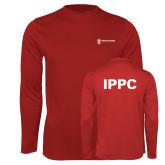 Performance Cardinal Longsleeve Shirt-IPPC