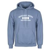 Light Blue Fleece Hoodie-NNS College Design