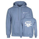 Light Blue Fleece Hoodie-HR and A