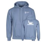 Light Blue Fleece Hoodie-Programs Division