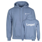 Light Blue Fleece Hoodie-Legal