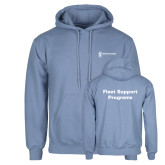 Light Blue Fleece Hoodie-Fleet Support Programs