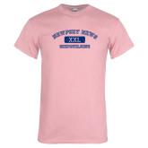 Light Pink T Shirt-NNS College Design