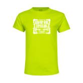 Youth Neon Green T Shirt-NNS Vintage