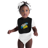 Black Baby Bib-Future Shipbuilder Carrier Ship